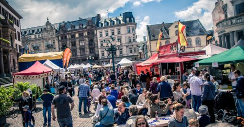 Gezieltes Stadtmarketing, dank Streetfood-Festival, Weinfest & Co.